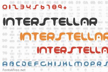001 Interstellar Log Font