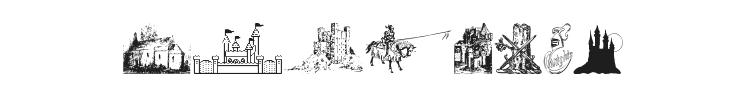 001 Medieval Daze Font Preview