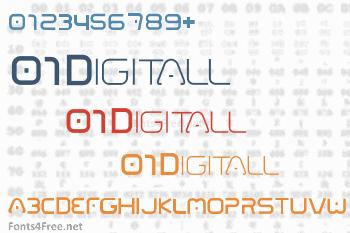 01 Digitall Font