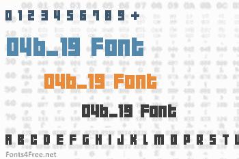 04b_19 Font