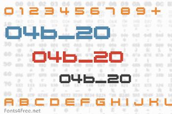 04b_20 Font