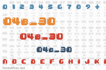 04b_30 Font