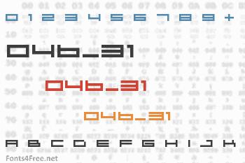 04b_31 Font