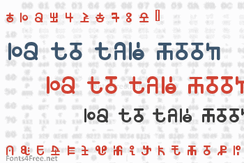 12 To The Moon Font
