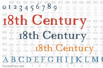 18th Century Font