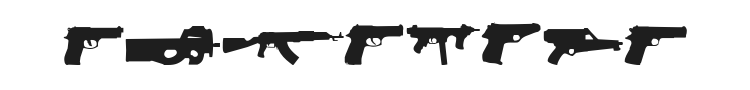 2nd Amendment Font Preview