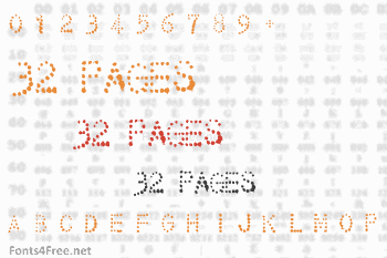 32 Pages Font