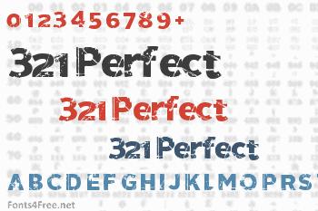321 Perfect Font