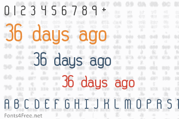 36 days ago Font