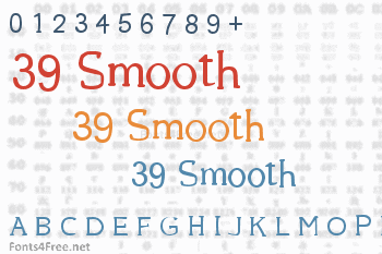 39 Smooth Font