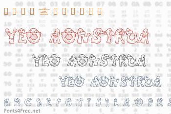 4YEO Monstrum Font
