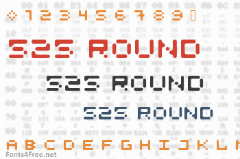 525 Round Font