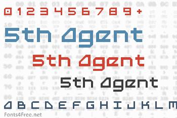 5th Agent Font