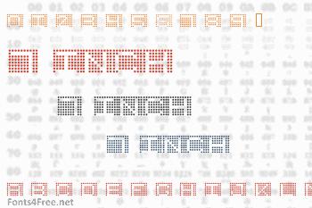 7 Inch Font