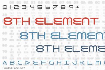 8th Element Font