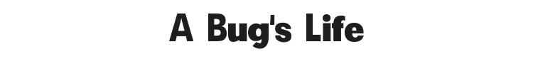A Bug's Life Font