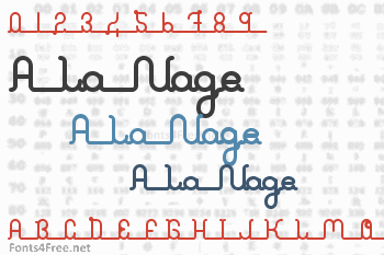 A La Nage Font