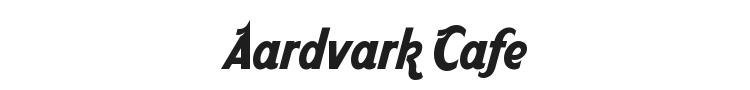 Aardvark Cafe Font Preview