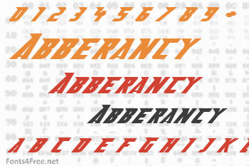 Abberancy Font