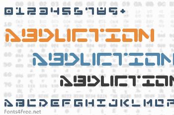 Abduction Font