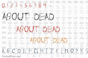 About Dead Font