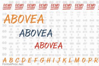 Abovea Font