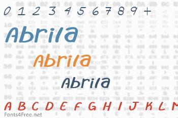 Abrila Font