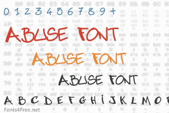Abuse Font