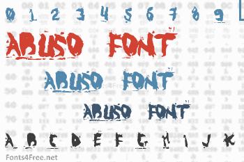 Abuso Font