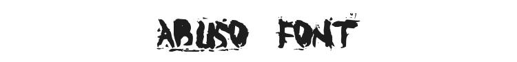 Abuso Font Preview