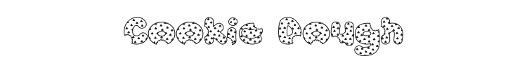 Accent Cookie Dough Font Preview