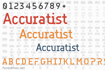 Accuratist Font
