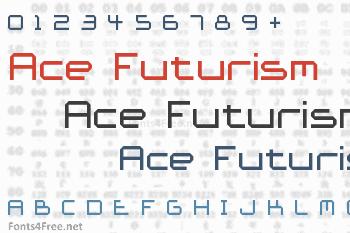 Ace Futurism Font