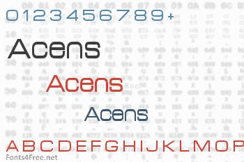 Acens Font