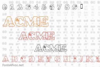 Acme University Font