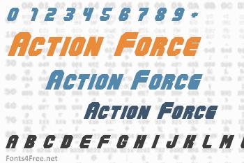 Action Force Font