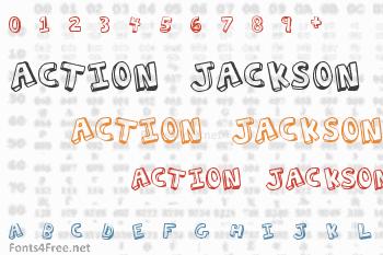 Action Jackson Font