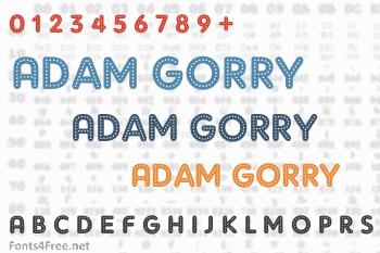 Adam Gorry Font