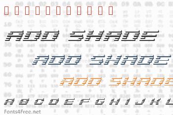 Add Shade Font
