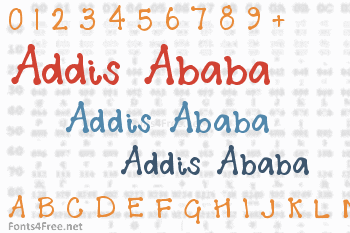 Addis Ababa Font