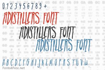 ADIstiLleRS Font