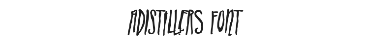 ADIstiLleRS Font Preview