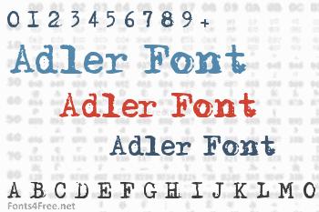 Adler Font