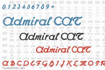Admiral CAT Font