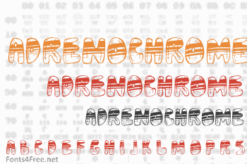 Adrenochrome Font