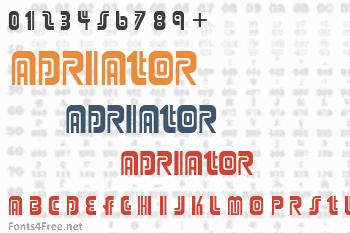 Adriator Font