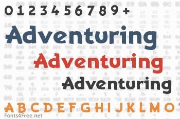 Adventuring Font