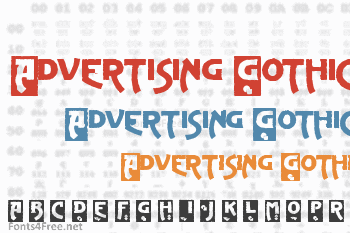 Advertising Gothic Font
