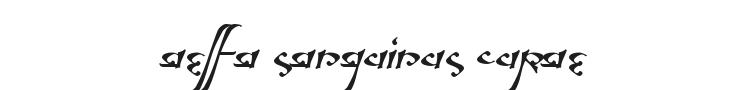 Aelfa Font