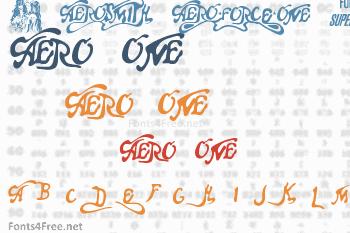 Aero Font One Font